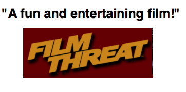 Theesa is a Mother Film Threat Logo and quote